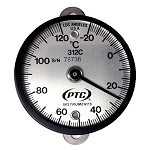 -20° to 120°C Tab Mount, Bimetal Surface Thermometer 312CT1