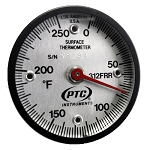 0° to 250°F Rail Weld Ultra Magnetic Thermometer 312FRR