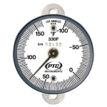 -100° to 160°F Tab Mount Surface Thermometer