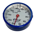 -20° to 160°F Enclosed  Ultra Magnetic Rail Thermometer 550F