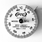 10° to 160°C Spot Check® Thermometer Model 571C