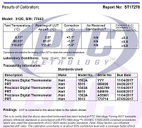 3 Point Temperature Certification-CERTTempA