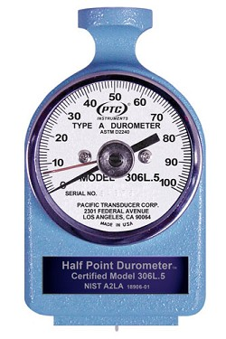Type A Durometer Half Point Accuracy 306L.5