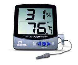 Humidity and Temperature Digital Thermometer-13307