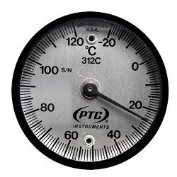 -20° to 120°C Magnetic Surface Thermometer 312C