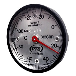 Model 312CRR Celsius -20° to 120°C Thermometer with Four Alnico Magnets