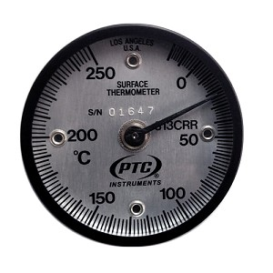 -20° to 250°C Magnetic Rail Weld Thermometer 313CRR