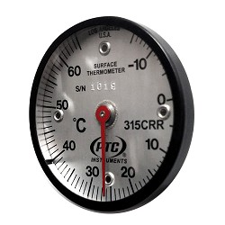 Model 315CRR Celsius -15° to 65°C Magnetic Rail Thermometer