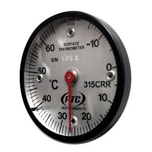 -15° to 65°C Magnetic Rail Thermometer 315CRR