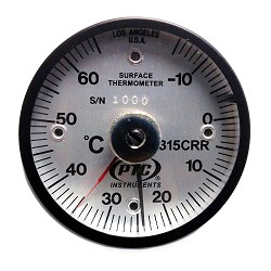-15° to 65°C Magnetic Rail Thermometer / Ancillary Hand
