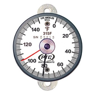 0° to 150°F Tab Mount Surface Thermometer Ancillary Hand 315FT1L