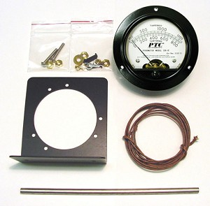 Pyrometer Kit (Meter, Thermocouple and SS Thermowell)
