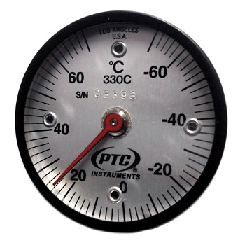 -70° to 70°C Magnetic Rail Thermometer Model 330CRR