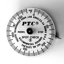 0° to 270°F Spot Check® Thermometer Model 570F