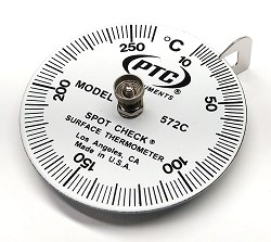 Model 572C Celsius 10°C to 260°C Direct Contact Spot Check® Thermometer