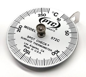 10°C to 260°C Spot Check® Thermometer Model 572C