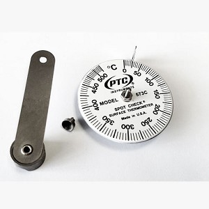 0° to 525°C Spot Check® Thermometer Magnetic Leaf Spring Model 573CM