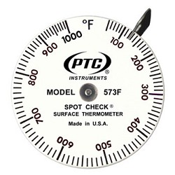 500° to 1000°F Spot Check® Thermometer Model 573F