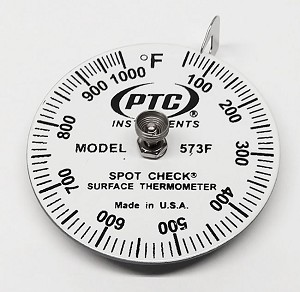 50° to 1000°F Spot Check® Thermometer Model 573F
