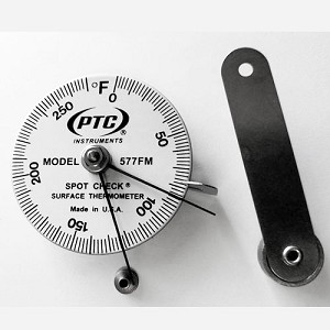 0°F to 270°F Spot Check® Direct Contact Thermometer Model 577FM