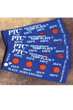 PTC® Temperature Labels 612 Series