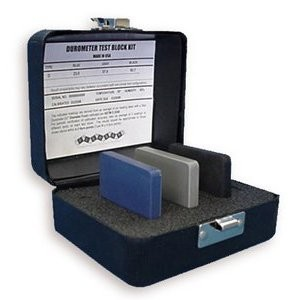 Rubber Test Block Kit for ASTM Type D Durometers Model 400D