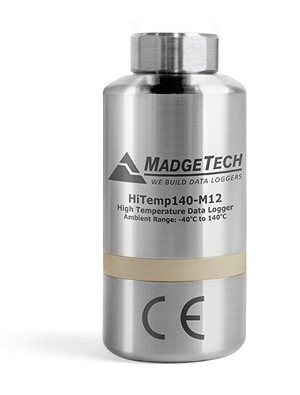 High Temperature Data Logger with M12 Connector HITEMP140-M12