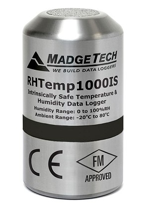 Intrinsically Safe Humidity & Temperature Data Logger- RHTEMP1000IS