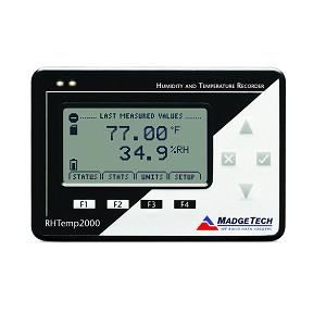 Humidity & Temperature Data Logger LCD