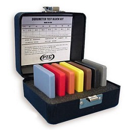 Rubber Test Block Kit for Durometers A, B and O