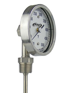 Industrial Stainless Steel Stem Thermometers