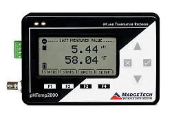 pH & Temperature Data Logger pHTEMP2000